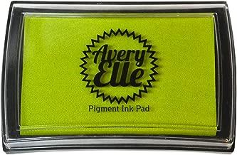 Avery Elle Pigment Ink Pad, Lemon Grass