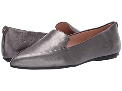 Taryn Rose Faye (Gunmetal Metallic Leather) Women
