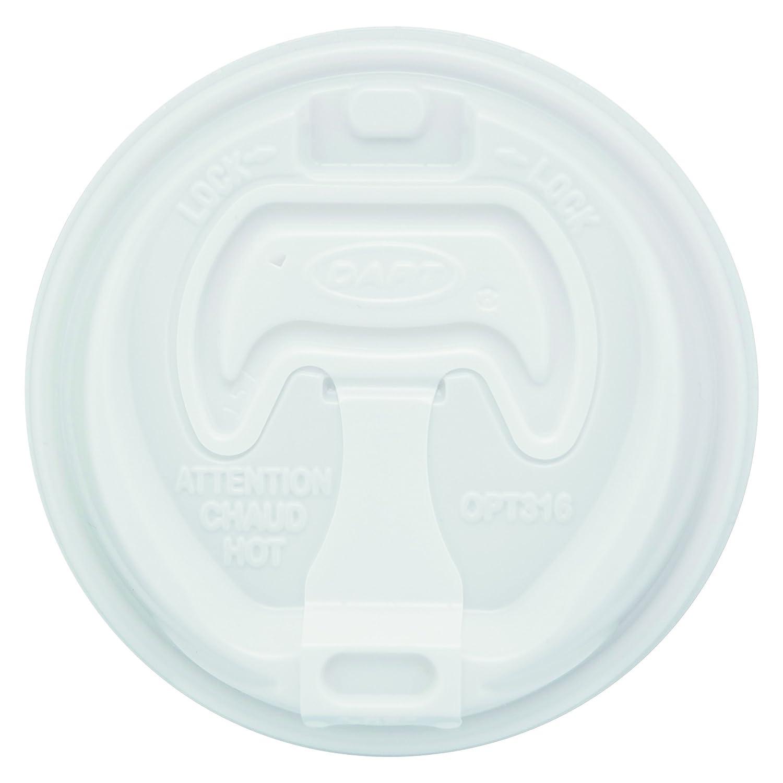 Dart Optima Reclosable Lids for Hot Paper SCCOPT316 Cups Finally popular brand 1000 pk cheap