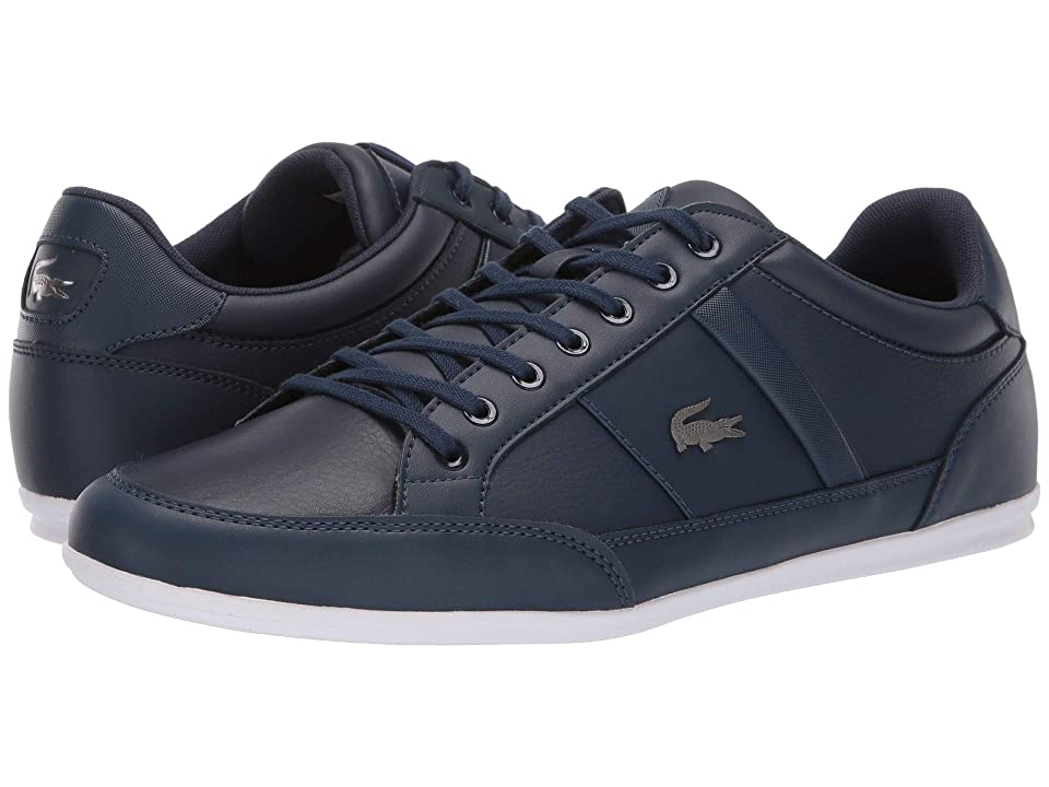 Lacoste Chaymon BL 1 (Navy/White) Men