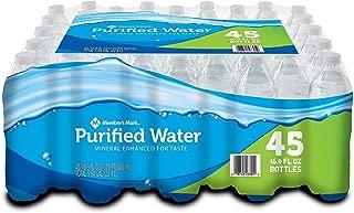 Member's Mark Purified Bottled Water (16.9 Fl. Oz, 45 Pk.)