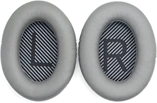 Ear Cushion Pad Cover 12 * 8.4 * 4cm(4.7 * 3.3 * 1.6in for Bose QuietComfort 2 15 25 35 Ear Cushion for QC2 QC15 QC25 QC35 AE 2 2i 2w Replacement