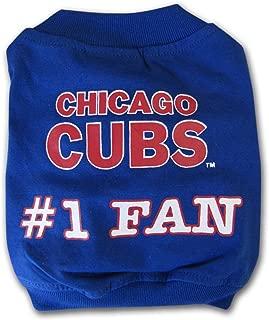 Sporty K9 MLB Chicago Cubs Pet T-Shirt, XX-Small