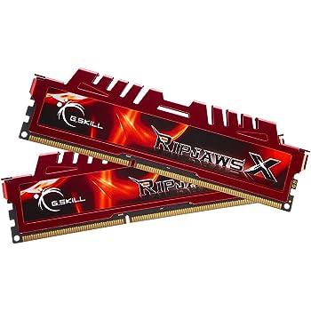 G. Skill F3-12800CL9D-8GBXL Ripjawsx Serie Scheda madre per Kit Sandy Bridge (9-9-9-24) Dual Channel