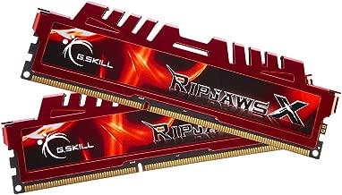 G.SKILL RipjawsX Series 16GB (2 x 8GB) 240-Pin DDR3 SDRAM DDR3 1866 (PC3 14900) Desktop Memory Model F3-14900CL10D-16GBXL