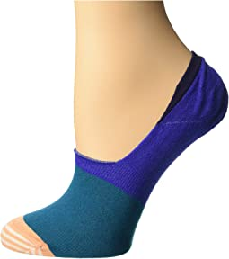 Block Color Liner Socks