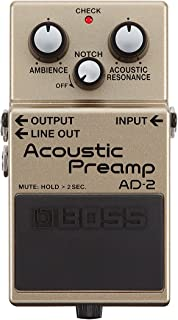 BOSS Acoustic Preamp Guitar Pedal (AD-2)
