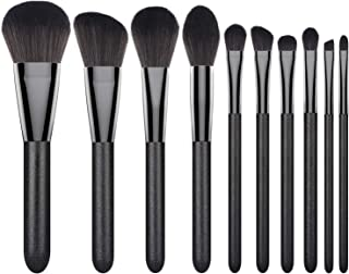 Makeup Brushes Set, Luxspire 8PCS Professional Make Up Brushes, Premium Fiber Wood Cosmetic Powder Foundation Eyeshadow Lip, Blush Bronzer, Contouring Blending, Brush Make Up Tool