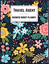 Travel Agent Business Budget Planner: Small Business Expense and Inventory Tracker,Record Monthly Budget,Income,Expenses,G...