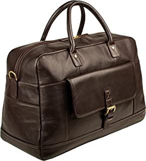 HIDESIGN Hunter Duffle Bag, Brown, HUH-004