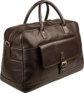 HIDESIGN Hunter Duffle Bag, Brown, HUH-004