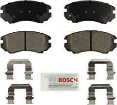 Bosch BE924H Blue Disc Brake Pad Set with Hardware for Select Buick, Cadillac, Chevrolet, GMC, Hyundai, Kia, and Saab Cars and SUVs - FRONT