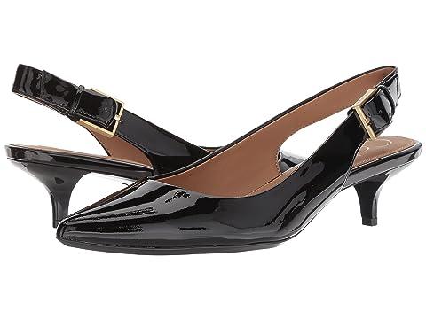 Calvin Klein卡尔文克莱恩 Luka Slingback Pump低跟休闲鞋
