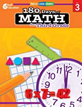 180 Days of Math: Grade 3 – Daily Math Practice Workbook for Classroom and Home, Cool and Fun Math, Elementary School Level Activities Created by Teachers to Master Challenging Concepts PDF
