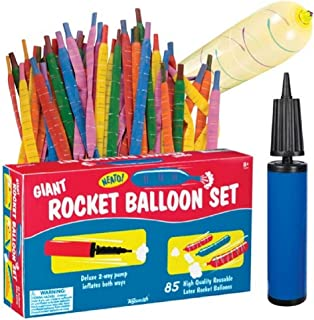 Toysmith Giant Rocket Balloon Set