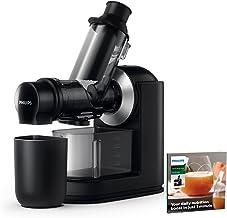 Philips Slowjuicer Viva Collection - 1 L kapacitet, kanna - Bred öppning 70 mm matningsrör - Droppstopp - Diskmaskinssäkra...