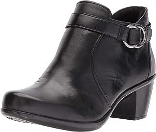 Naturalizer Women's Elisa Ankle Boot, Black, 8 W US