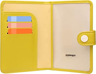 Zoppen Passport Holder Cover Wallet for Women Rfid Blocking Travel Wallet Id Card Case