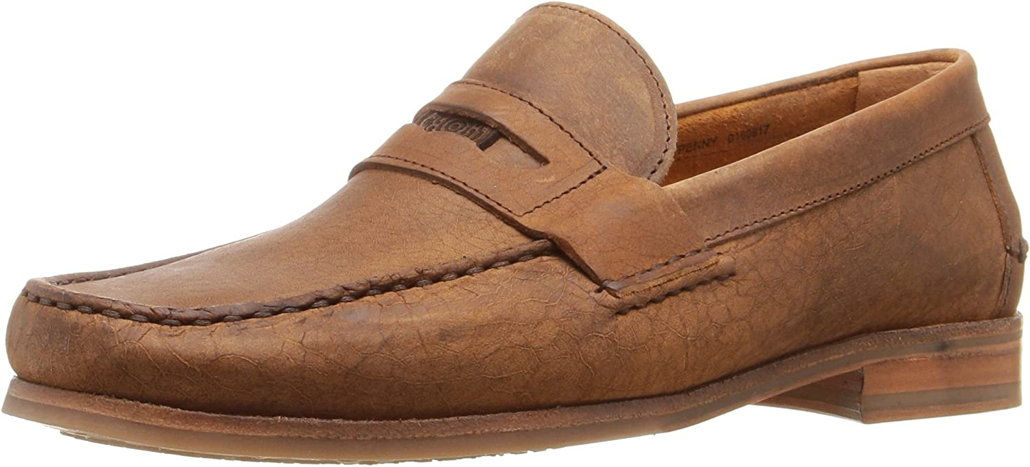 Sebago Men's Conrad Penny Loafer, Tan Crackled Leather, 7 M US B01B7HY4MY  | Offizielle Webseite