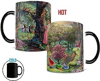 Disney Morphing Mugs Thomas Kinkade Princess Sleeping Beauty Painting Heat Reveal Ceramic Coffee Mug - 11 Ounces