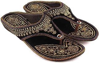 TAJNAN Women's Jaipuri Chappal/Flat/Sandal