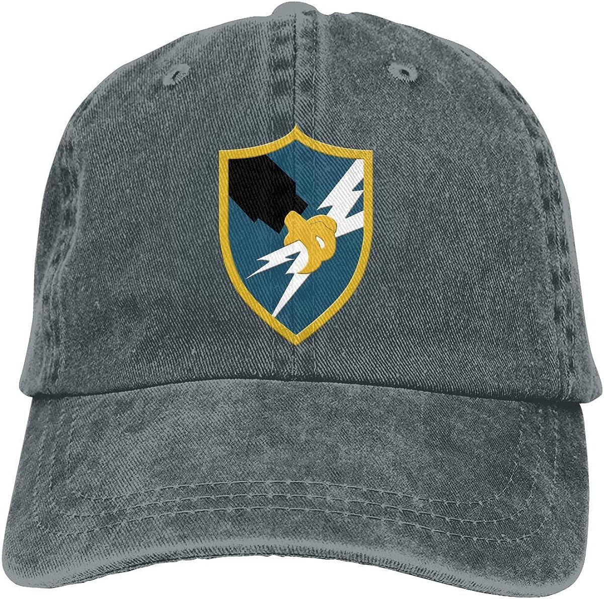 SLISL EIEI US Army Security Agency Adjustable Baseball Caps Denim Hats Cowboy Sport Outdoor