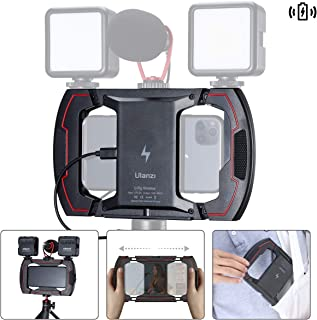 ULANZI U Rig Video Rig for iPhone Wireless Charging, Phone Stabilizer Rig with Triple Cold Shoe Mount, Phone Tripod Mount ...