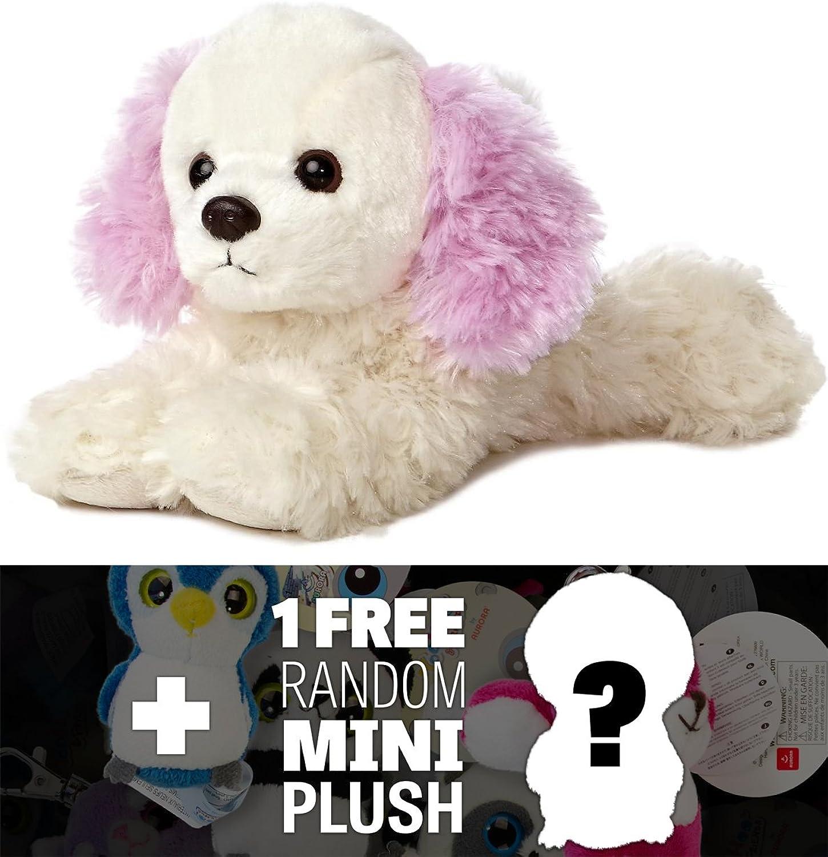 Chloe  8  Aurora World Mini Flopsie Plush Series + 1 FREE Aurora Mini-Plush Charm Bundle [313385]