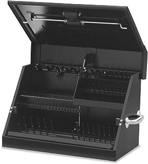 Montezuma – SM200B – 22.5-Inch Portable TRIANGLE Toolbox – Heavy-Duty Steel..