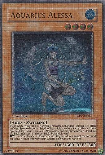 TAEV-DE020 - Aquarius Alessa - Ultimate Rare - Yu-Gi-Oh - Deutsch - 1. Auflage