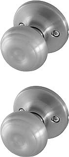 Honeywell Safes & Door Locks 8101303 Classic Passage Door Knob, Satin Nickel
