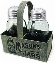 Mason's Jars Box Salt And Pepper Caddy