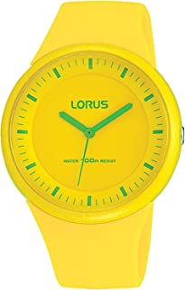 Lorus ladies Womens Analog Quartz Watch with Silicone bracelet RRX01EX9