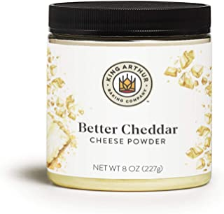 King Arthur, Better Cheddar Cheese Powder (formerly known as Vermont Cheddar Cheese Powder), 8 Ounces