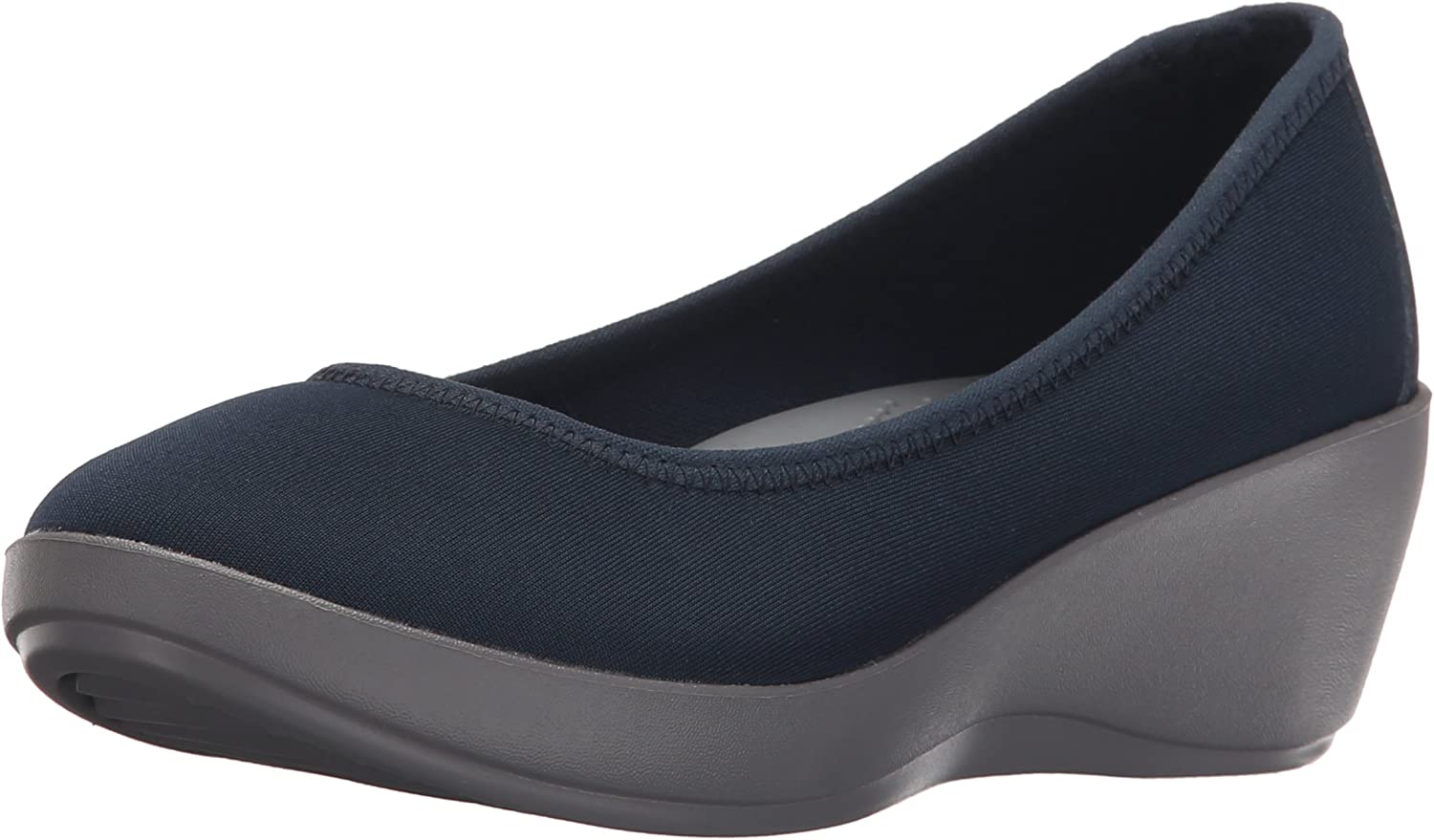 Crocs Women's Busy Day Stretch Ballet Wedge Flat