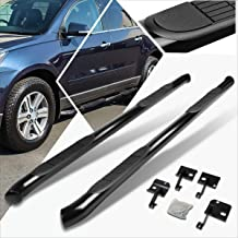 3 Inches Black Running Board Side Step Nerf Bar Compatible with Chevy Traverse/GMC Acadia 09-17