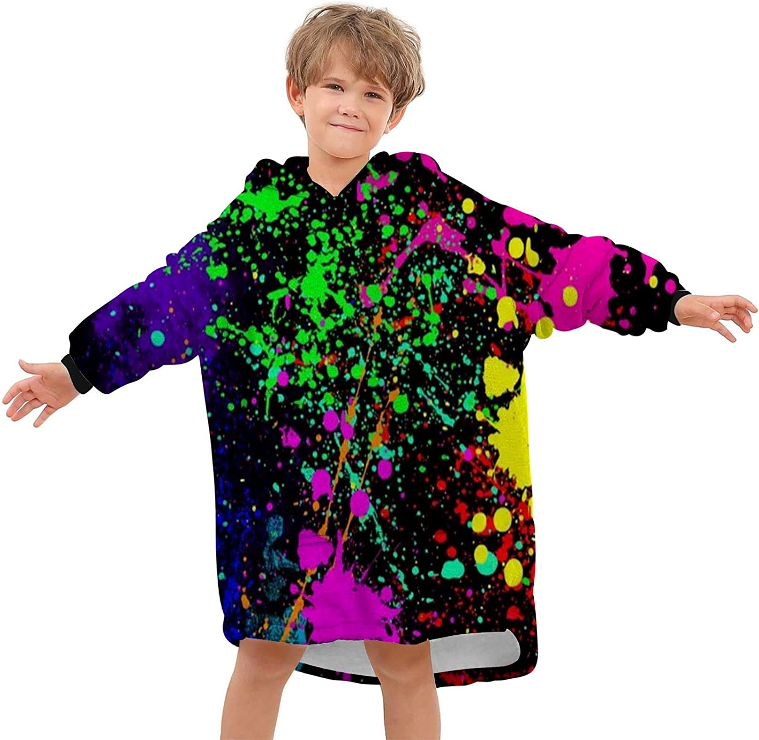 Oversized Wearable Blanket Hoodie Pullover Warm Rainb Super All items in the store Soft Gifts