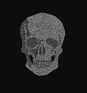 skull rhinestone transfer