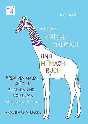 Kritzelalbuch und itachBuch 48 Jahre by Vicky Bo