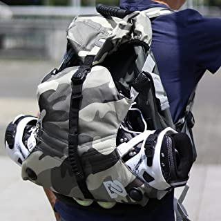DENUONISS Professional Inline Skates Travel Backpack