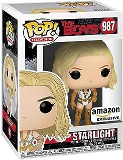 Funko Pop! TV: The Boys - Starlight con su traje de acción, exclusivo de Amazon.