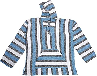 Cozumel - Authentic Mexican Baja Hoodies - Wholesale Lot of 6 Hoodies - Assorted Colors