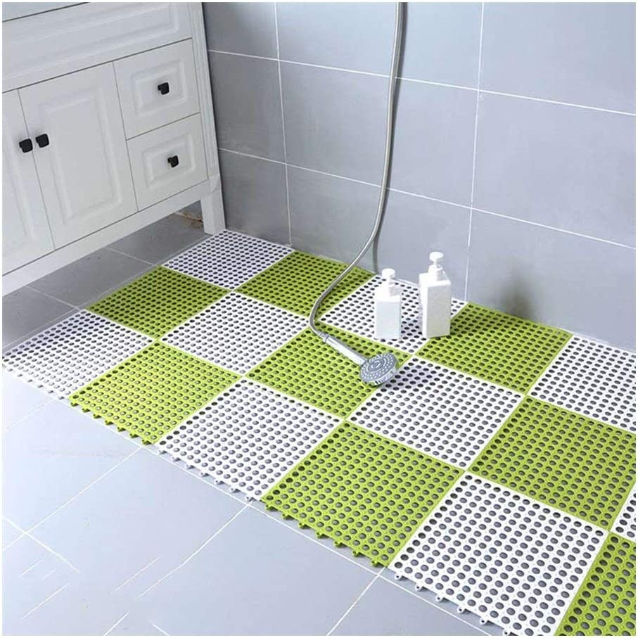 XXIOJUN-Shower Mat,Bathroom Splicing Environment Max 61% OFF Non-Slip Mat Daily bargain sale