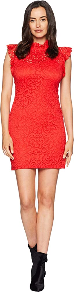 Cap Sleeve Lace Sheath