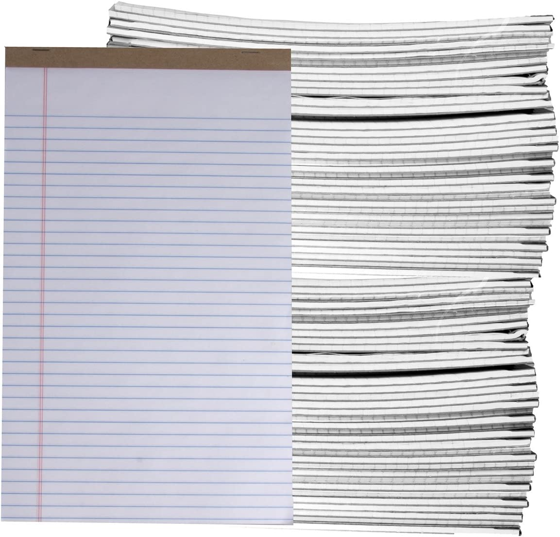 72 Count Assorted 50pg Legal Max 79% Cheap mail order sales OFF Pads Perforated x Pad Note 14 8.5