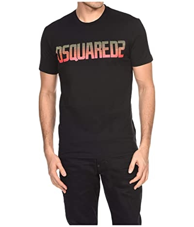 DSQUARED2 Cool Fit Dyed T-Shirt (Black) Men