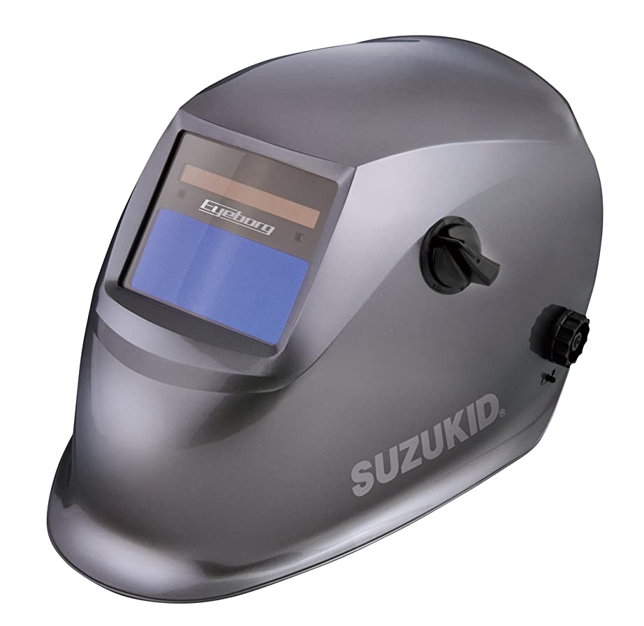 スズキッド(SUZUKID) 液晶式自動遮光溶接面 アイボーグアルファ2 EB-200A2