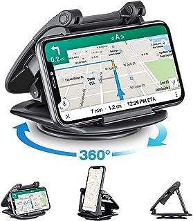 Soporte Móvil para Coche, Modohe Soporte Movil Coche Rotación de 360 Soporte Universal Movil Coche para Xiaomi iPhone11 Pro/11/Xs Max/Xs/Xr/X/8/7/6s Plus, Galaxy S10 Note 10+ Huawei Mate 30 Pro