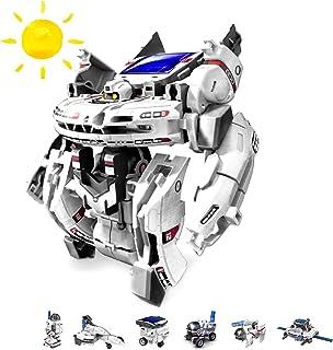 7 in 1 Roboter Konstruktions-Bauset mit Solar, Droide, Bauka