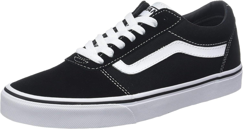 Vans Women's Ward Suede Canvas Low-Top Sneakers